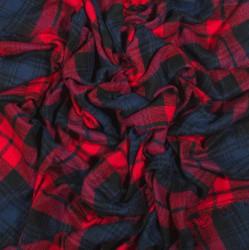 čtvercová šála deka zimní 2371-1