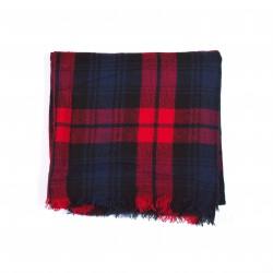 čtvercová šála deka zimní 2371-2