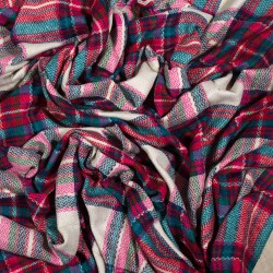 čtvercová šála deka zimní 2372-1