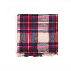 čtvercová šála deka zimní 2372-2