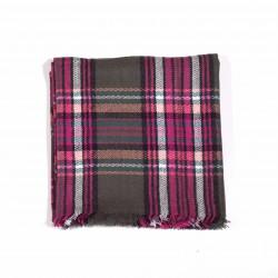 čtvercová šála deka zimní 2373-2