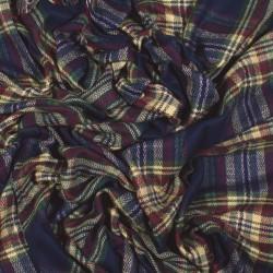 čtvercová šála deka zimní 2376-1