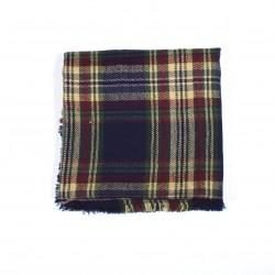 čtvercová šála deka zimní 2376-2