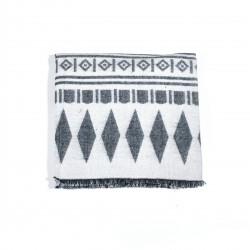 čtvercová šála deka zimní 2377-3