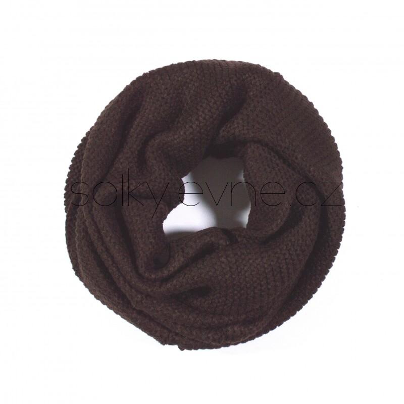 pletená kruhová zimní šála 2717 (1)