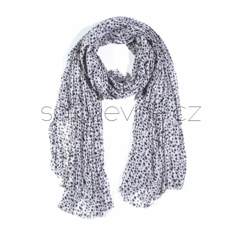 šátek na krk se vzorem dlouhý nekonečný 3012 (1) (1)