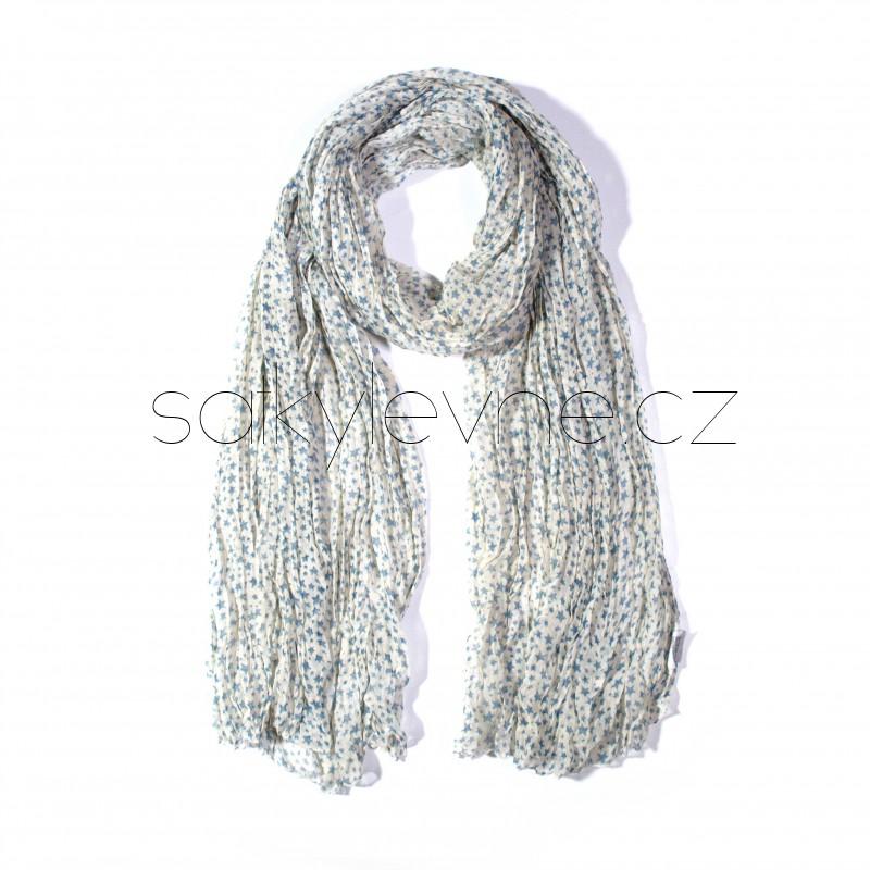 šátek na krk se vzorem dlouhý nekonečný 3014 (1) (1)