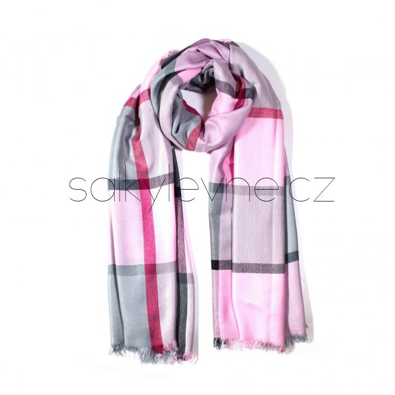 šátek na krk se vzorem dlouhý nekonečný 3029 (1) (1)