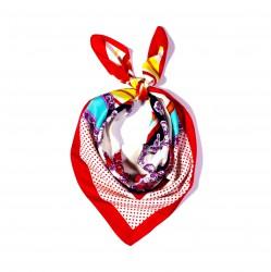 malý šátek na krk typu letuška  (11)