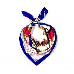 malý šátek na krk typu letuška  (13)