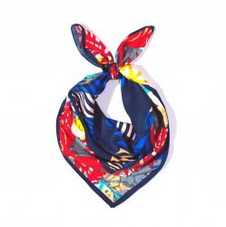 malý šátek na krk typu letuška  (25)