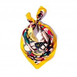 malý šátek na krk typu letuška  (29)