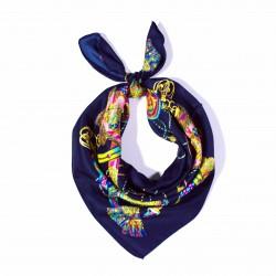 malý šátek na krk typu letuška  (43)