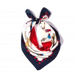 malý šátek na krk typu letuška  (61)