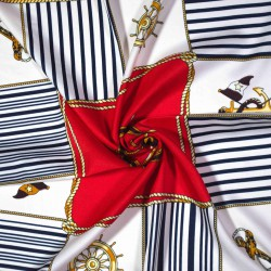 malý šátek na krk typu letuška  (72)