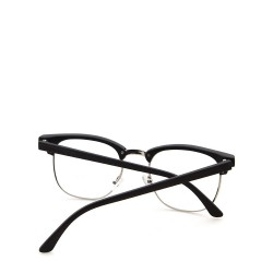 Sluneční brýle čirá skla coxes černé 3