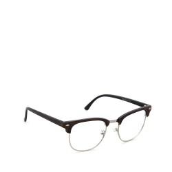 Sluneční brýle čirá skla coxes hnědé 2