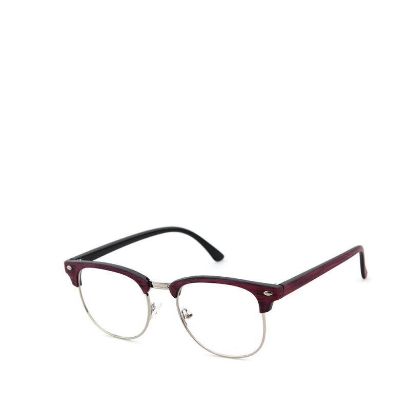 Sluneční brýle čirá skla coxes červené 1