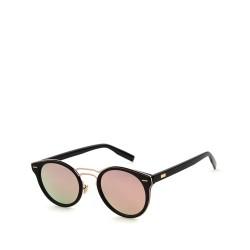 kulaté sluneční brýle stylové tmavá skla 6