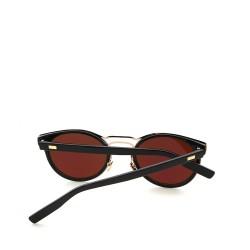 kulaté sluneční brýle stylové tmavá skla 14