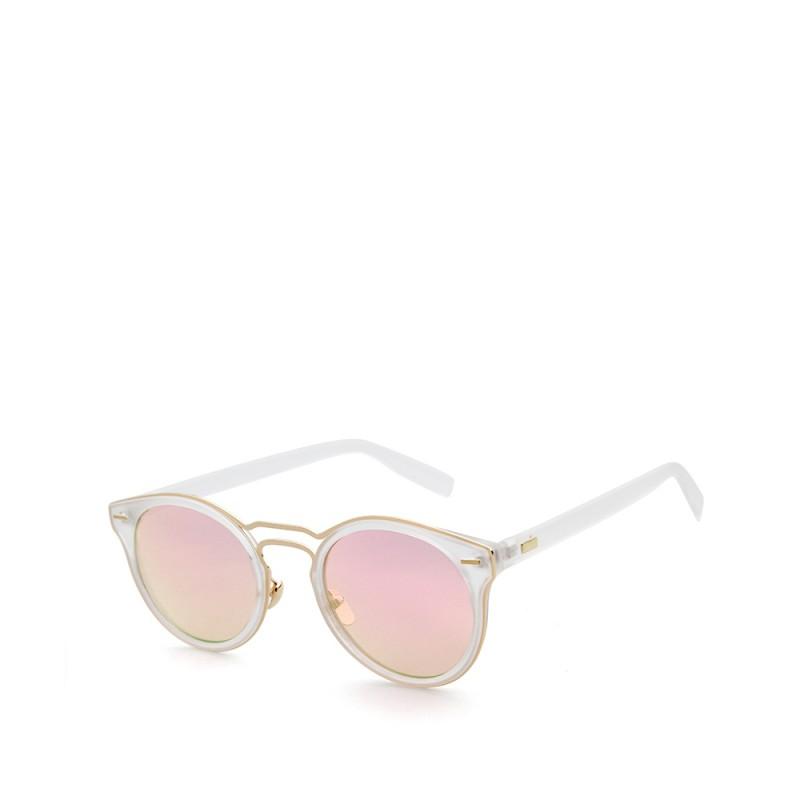 kulaté sluneční brýle stylové tmavá skla 16