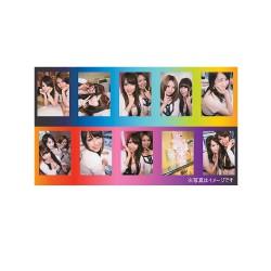 instatní fotoaparát instax fujifilm fotopapír duha rámeček 10ks mini rainbow frame polaroid náplně (12)