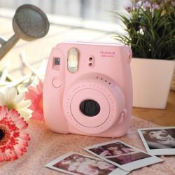 instatní fotoaparát instax fujifilm světle růžový instax mini 8 s pink (6)