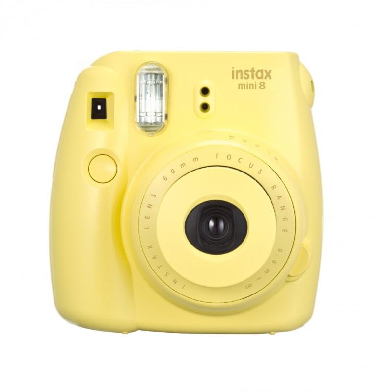 instatní fotoaparát instax fujifilm žlutý instax mini 8 s yellow (1)
