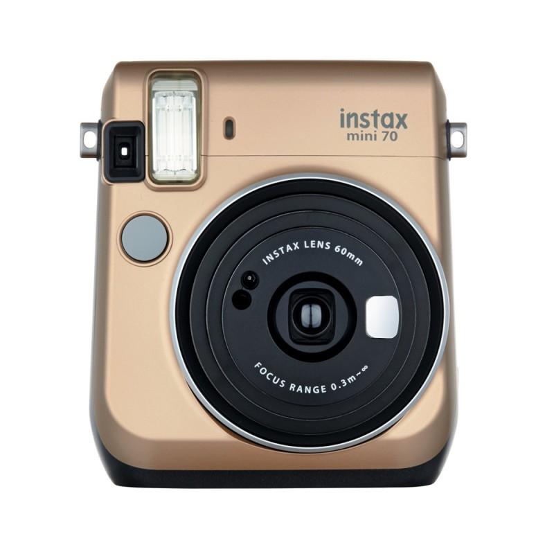 instatní fotoaparát instax fujifilm zlatá instax mini 70 gold (1)