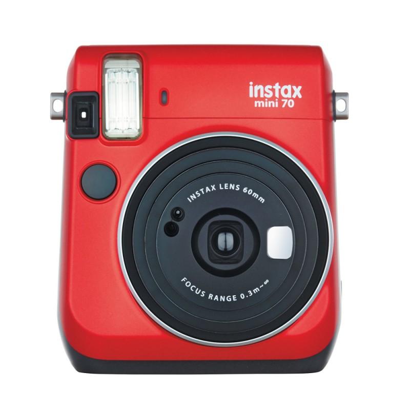 instatní fotoaparát instax fujifilm červená instax mini 70 red (1)