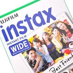 instatní fotoaparát instax fujifilm fotopapír white rámeček 10ks wide white frame polaroid náplně (5)