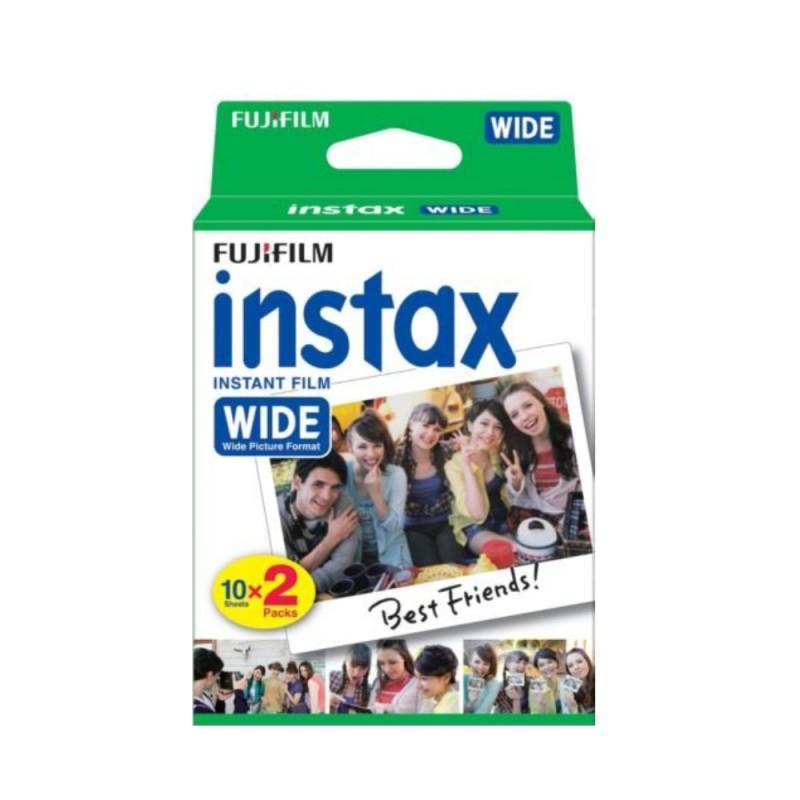 instatní fotoaparát instax fujifilm fotopapír white rámeček 20ks wide white frame polaroid náplně (1)
