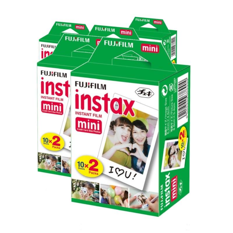 zváhodněné balení fotopapíru film instax mini 100 ks
