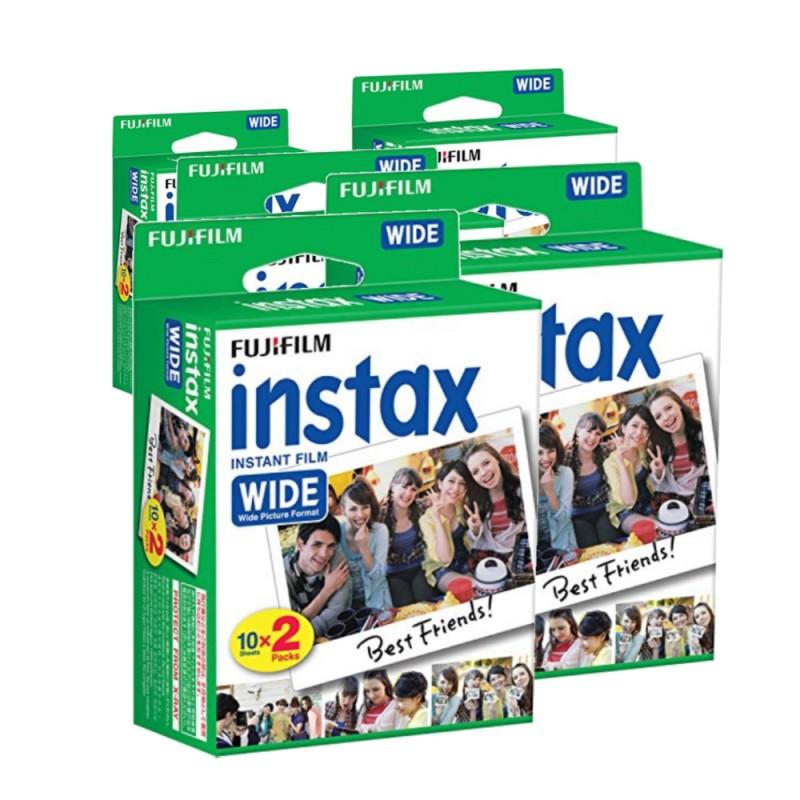 zváhodněné balení fotopapíru film instax wide 100 ks