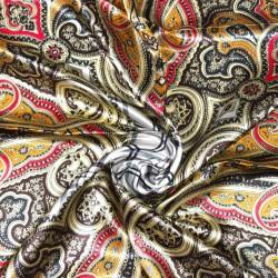 čtvercový saténový šátek na krk (34) (1)