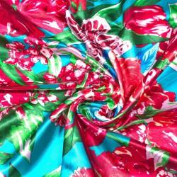 čtvercový saténový šátek na krk (17) (1)