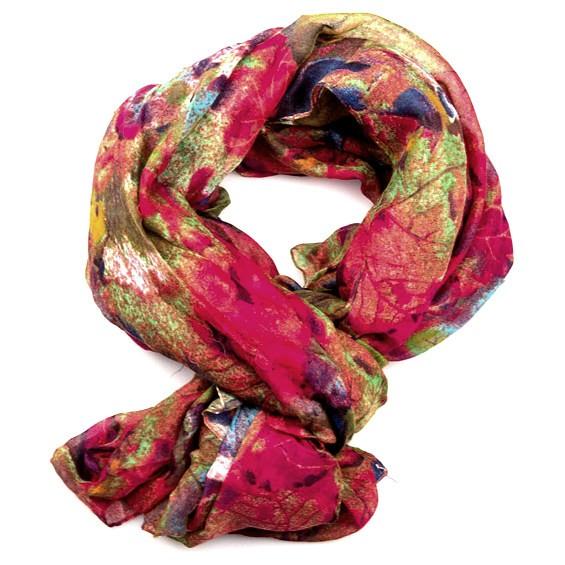 XL šátek barevný se vzorem