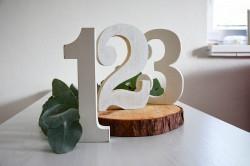 číslování stolů