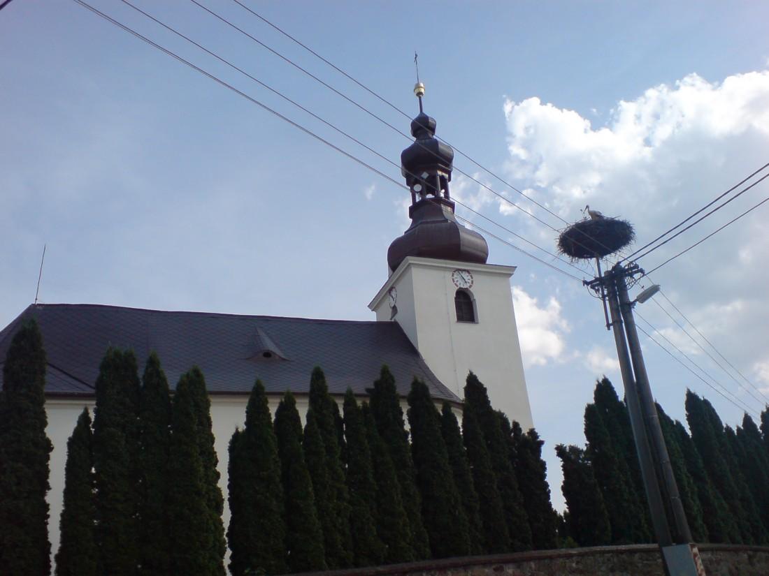 kostel Vysoká