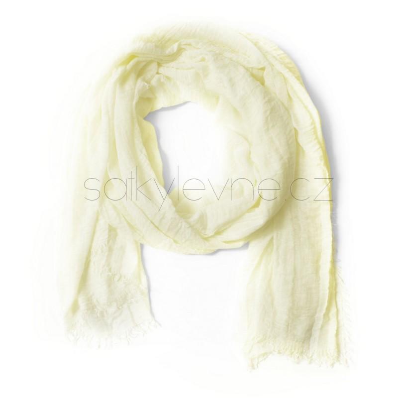 XL dlouhý šátek jednobarevný 4038