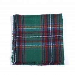 čtvercová šála deka zimní 2375-2