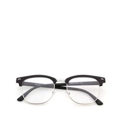 Sluneční brýle čirá skla coxes černé 4