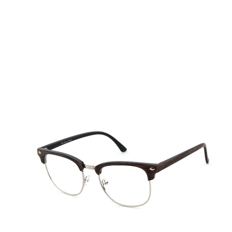 Sluneční brýle čirá skla coxes hnědé 1