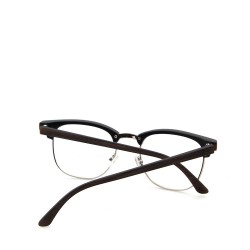 Sluneční brýle čirá skla coxes hnědé 3