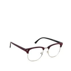 Sluneční brýle čirá skla coxes červené 2