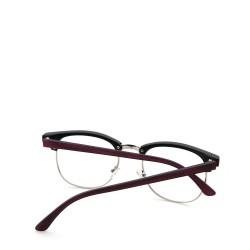 Sluneční brýle čirá skla coxes červené 3