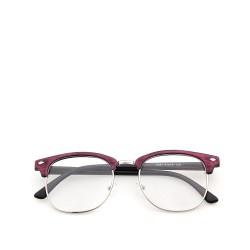 Sluneční brýle čirá skla coxes červené 4