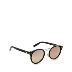 kulaté sluneční brýle stylové tmavá skla 7