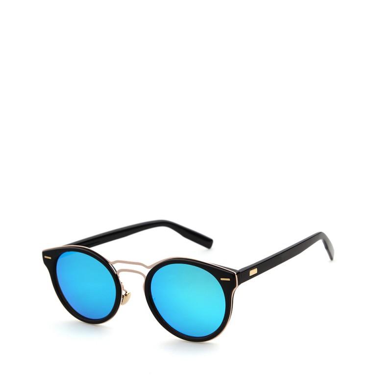 kulaté sluneční brýle stylové tmavá skla 11