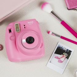 instatní fotoaparát instax fujifilm růžový instax mini 9 pink (9)